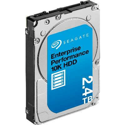 "Накопитель на жестком магнитном диске Seagate Жесткий диск Exos 10E2400 HDD ST2400MM0129 2400Gb Seagate Enterprise Performance 10K HDD w/Enhanced Cache - 512e/4Kn FastFormat SAS 2.5"" SAS 256Mb 10000rpm"