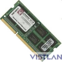 Память DDR3 8Gb 1600MHz Kingston KVR16S11/8 RTL PC3-12800 CL11 SO-DIMM 204-pin 1.5В