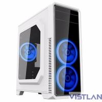 GameMax [G561-White] без БП (Midi Tower, ATX White, Blue Led)