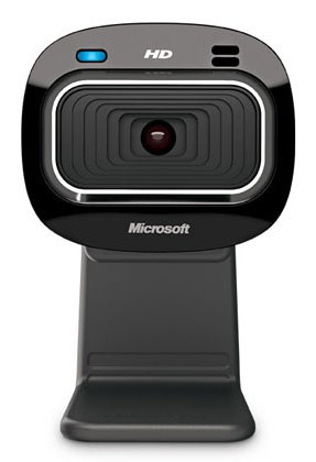 Камера Web Microsoft LifeCam HD-3000 черный USB2.0 с микрофоном