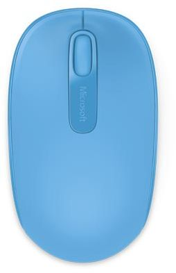 Мышь Microsoft Wireless Mbl Mouse 1850Win7/8 EN/AR/CS/NL/FR/EL/IT/PT/RU/ES/UK EMEA EFR CyanBlue