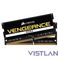 Память DDR4 2x16Gb 2666MHz Corsair CMSX32GX4M2A2666C18 RTL PC4-21300 CL18 SO-DIMM 260-pin 1.2В