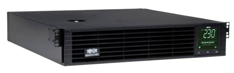 SmartPro 230V 1kVA 900W Line-Interactive Sine Wave UPS, 2U Rack/Tower, Network Card Options, LCD, USB, DB9, 6 Outlets