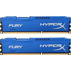 Kingston 8GB 1333MHz DDR3 CL9 DIMM (Kit of 2) HyperX FURY Blue Series