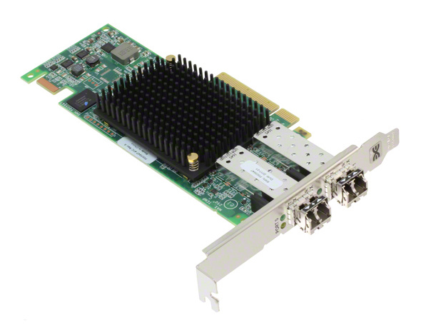Контроллер LSI Emulex LPe16002B-M6 HBA PCIe 16 Gb 2-port Fibre Channel Adapter by (LPE16002B-M6)