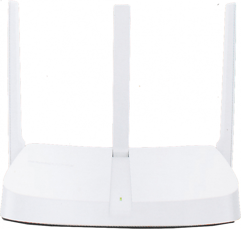 300Mbps Router, 2.4GHz, 1 10/100M WAN + 4 10/100M LAN, 3 fixed antennas