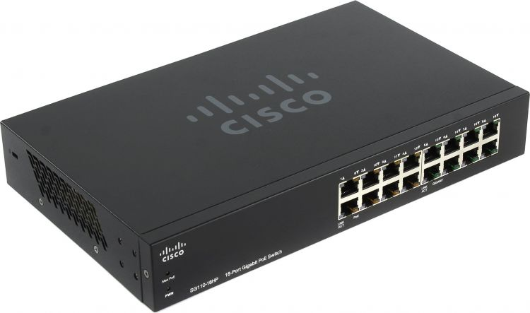 SG110-16HP 16-Port PoE Gigabit Switch