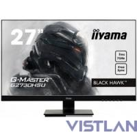 Монитор жидкокристаллический Iiyama Монитор LCD 27'' [16:9] 1920х1080(FHD) TN, nonGLARE, 300cd/m2, H170°/V160°, 1000:1, 12М:1, 16.7M Color, 1ms, VGA, HDMI, DP, USB-Hub, Tilt, Speakers, Audio out, 3Y, Black