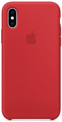 iPhone XS Silicone Case - (PRODUCT)RED