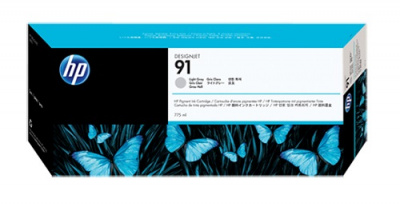 HP 91 775-ml Pigment Light Grey Ink Cartridge