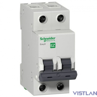 Schneider-electric EZ9F34240 АВТ. ВЫКЛ. EASY 9 2П 40А С 4,5кА 230В =S=