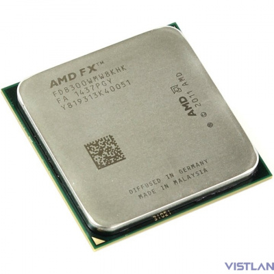 Процессор AMD FX 8300 AM3+ (FD8300WMHKBOX) (3.3GHz/5200MHz) Box