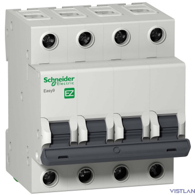 Schneider-electric EZ9F14420 АВТ. ВЫКЛ. EASY 9 4П 20А B 4,5кА 400В =S=