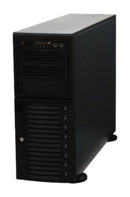 4U/Tower, E-ATX, 2x5.25'', 1x3.5'', 8x3.5'' hot-swap SAS/SATA with SES2, 7xFH, 452x178x648mm, 865W, super quiet 28dB