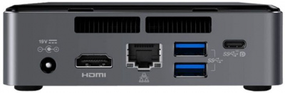 Nettop Intel NUC, Intel Core i5 7260U, up to 3.4 GHz, 2xDDR4 SODIMM (1.2V up to 2133MHz/32Gb), VGA Intel Iris Plus Graphics 640(USB-C(DP1.2)+HDMI 4K), 4xUSB3.0, 1x m.2 SSD, GBL, WiFi+BT, microSDXC, Black,VESA, powercord EU, IR-port, Kensington Lock, 95095