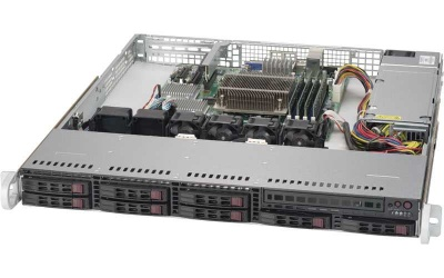 "Supermicro SERVER SYS-1019S-MC0T (X11SSH-CTF, 113MFAC2-341CB)  ( LGA 1151, Intel® C236 chipset, 8 Hot-swap 2.5"" SATA3/SAS, 4xDDR4 Up to 64GB Unbuffered ECC UDIMM, 2 GbE ports with Intel® X550, Integrated IPMI 2.0 and KVM with Dedicated LAN, 1 VGA, 1 COM,"