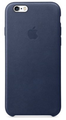 iPhone 6/6s Leather Case - Midnight Blue