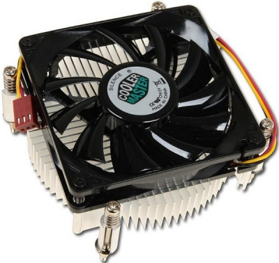 Cooler Master CPU Cooler DP6-8E5SB-0L-GP, Intel 115*, 82W, Al, 3pin, low profile