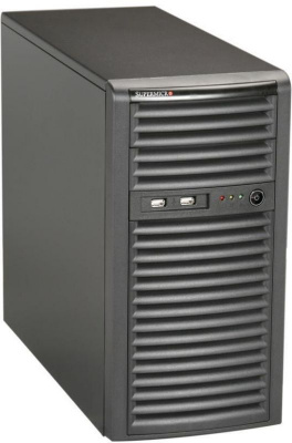 Mini-Tower, Micro-ATX, 2x5.25'', 4x3.5'' internal SAS/SATA, 4xFH, 362x184x425mm, front 2xUSB, 300W